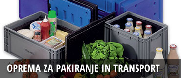 Oprema za pakiranje in transport